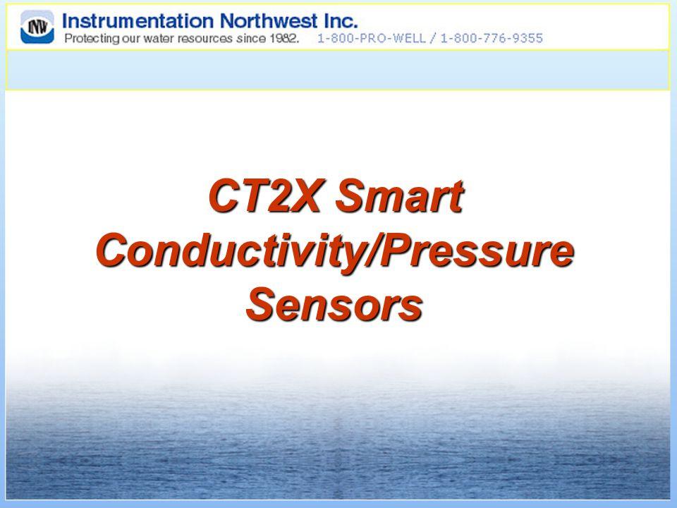 CT2X Smart Conductivity/Pressure Sensors