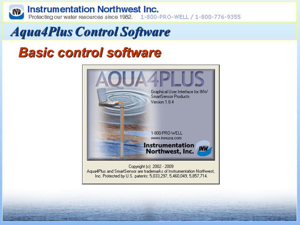 Aqua4Plus Control Software Basic control software