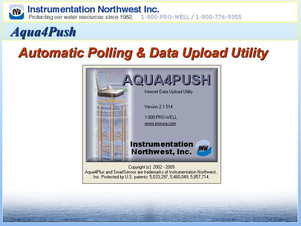 Aqua4Push Automatic Polling & Data Upload Utility