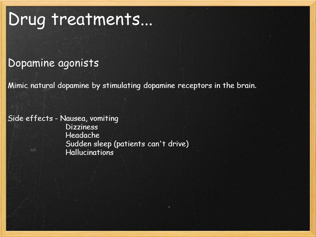 Drug treatments...