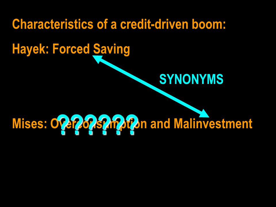 Figure 4.4 from Time and Money Padding the supply of loanable funds with newly created money drives a wedge between saving and investment.