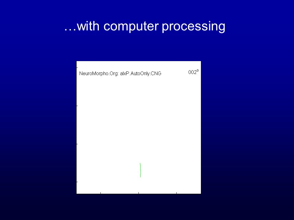 …with computer processing