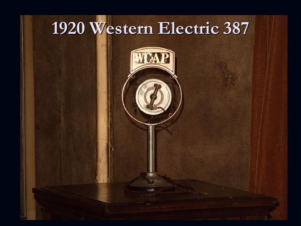 1920 Western Electric 387