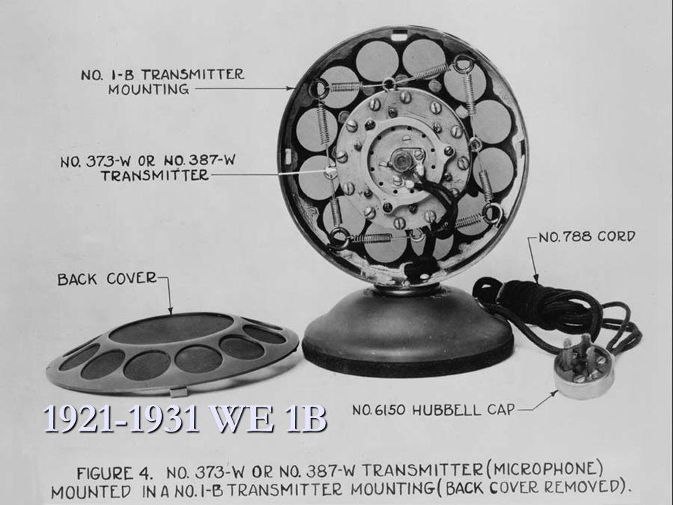 1921-1931 WE 1B