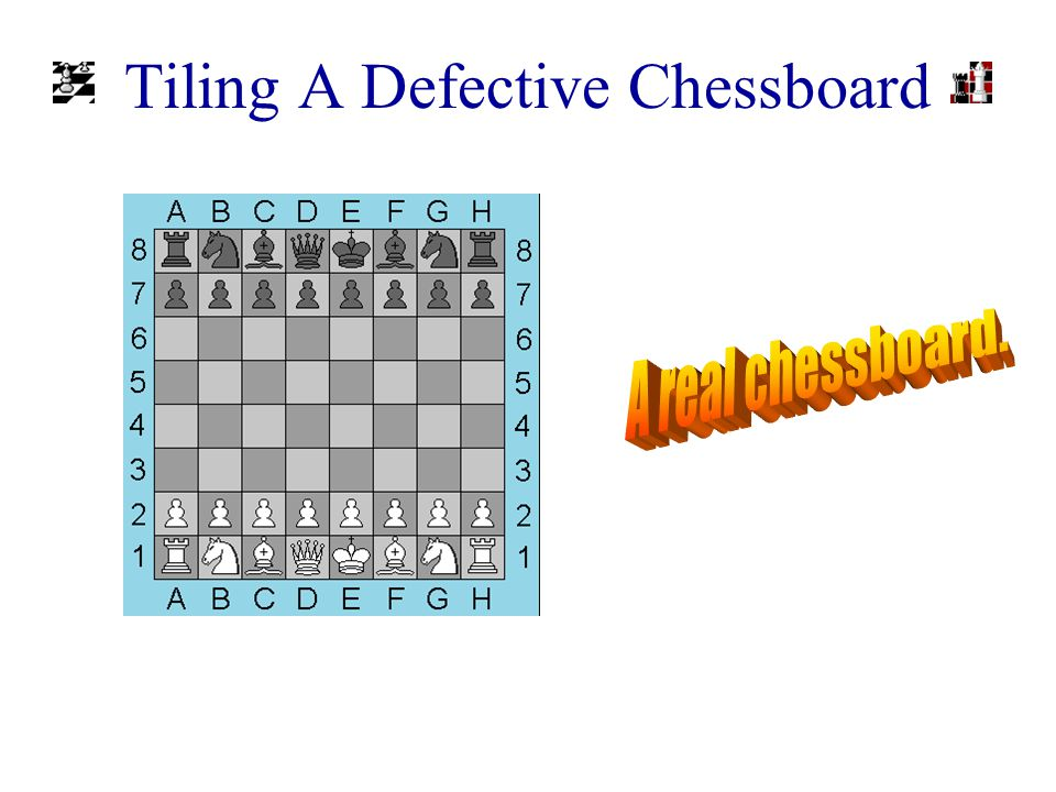 Our Definition Of A Chessboard A chessboard is an n x n grid, where n is a power of 2.