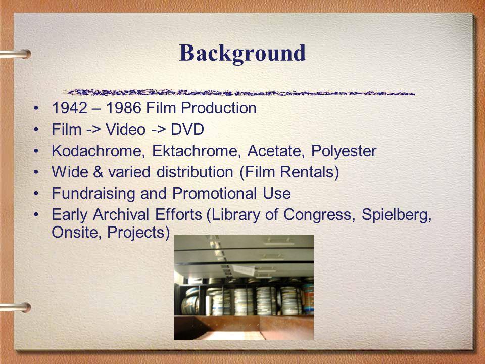 Specs and Film Logistics »Hadassah Headlines' tips for film maintenance.