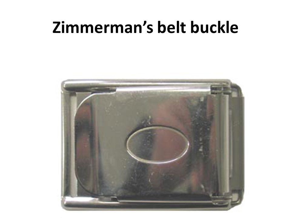 Zimmerman's belt buckle