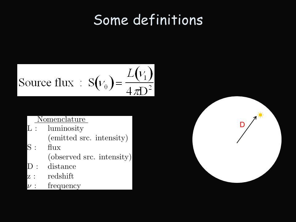 Definition Cummulative distribution of number of sources per unit intensity Observed intensity (S) : LogN - LogS Corrected for distance (L) : Luminosity function LogS -logS CDF-N Brandt etal, 2003 CDF-N LogN-LogS Bauer etal 2006