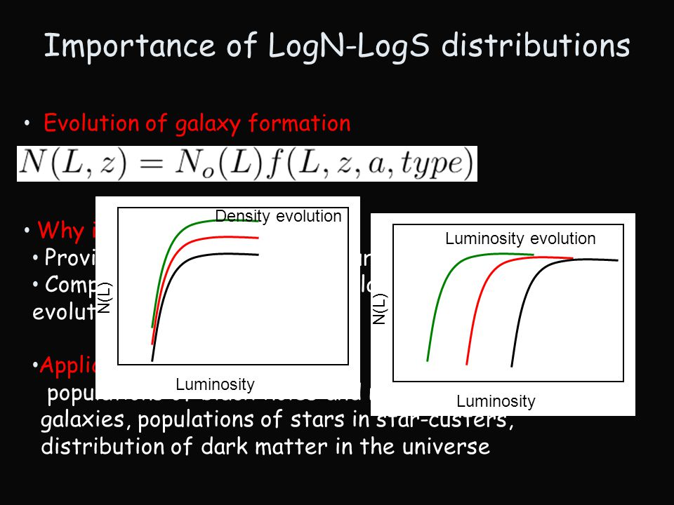 Evolution of galaxy formation Why is important .