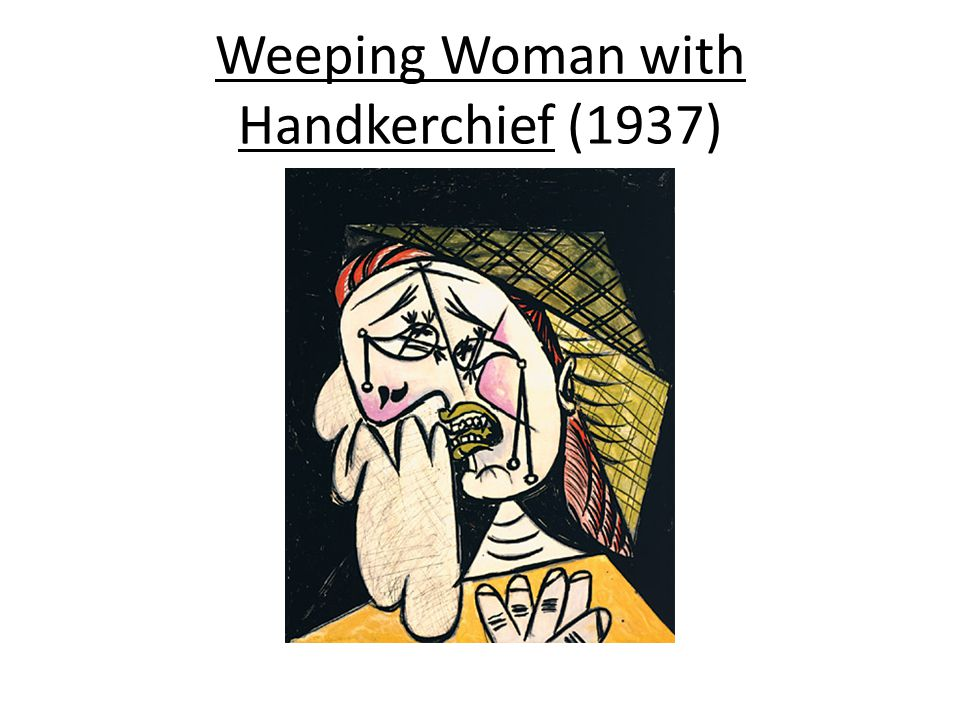 Weeping Woman with Handkerchief (1937)