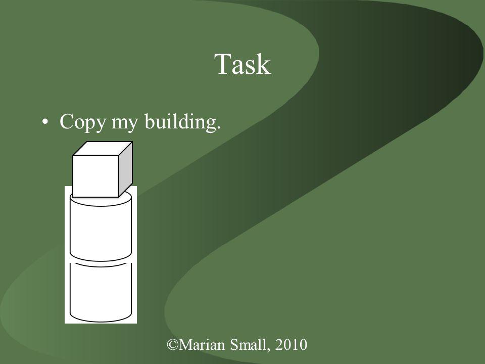 Task Copy my building.