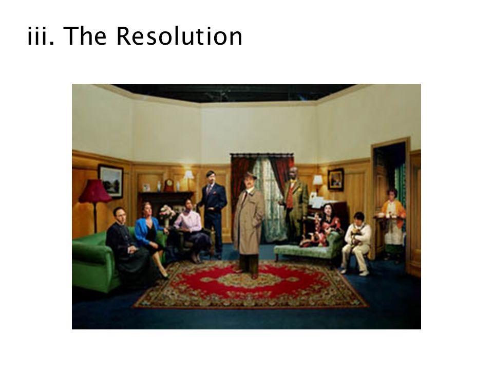 iii. The Resolution