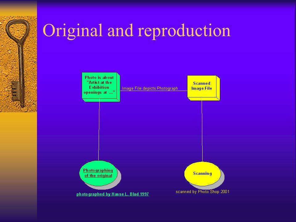 Original and reproduction