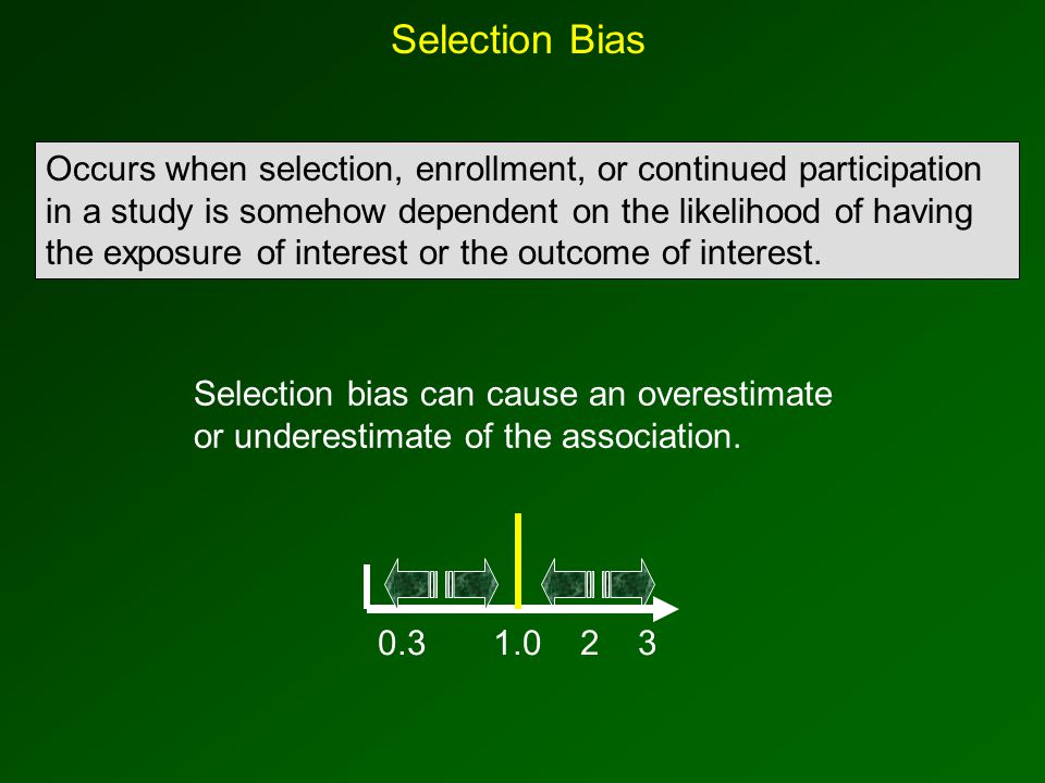 Misclassification of Outcome Can Also Introduce Bias … but it usually has much less of an impact than misclassification of exposure, because: 1.Most of the problems with misclassification occur with respect to exposure status, not outcome.