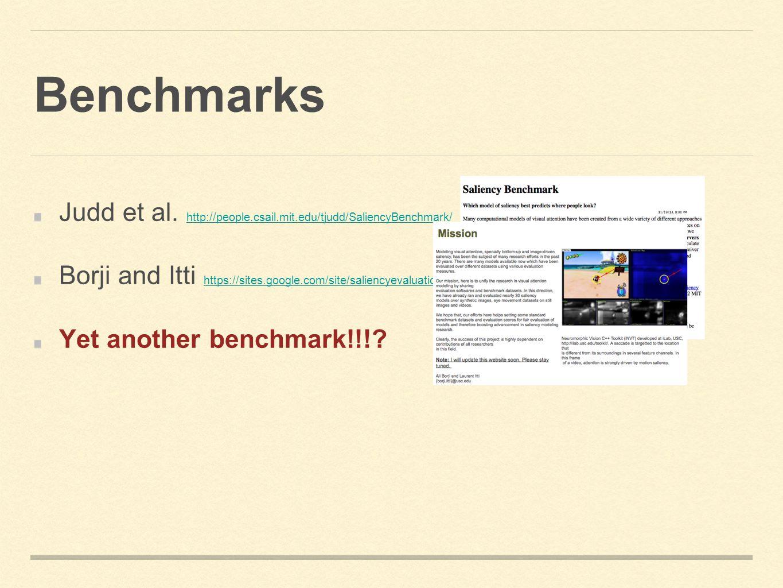 Benchmarks Judd et al.