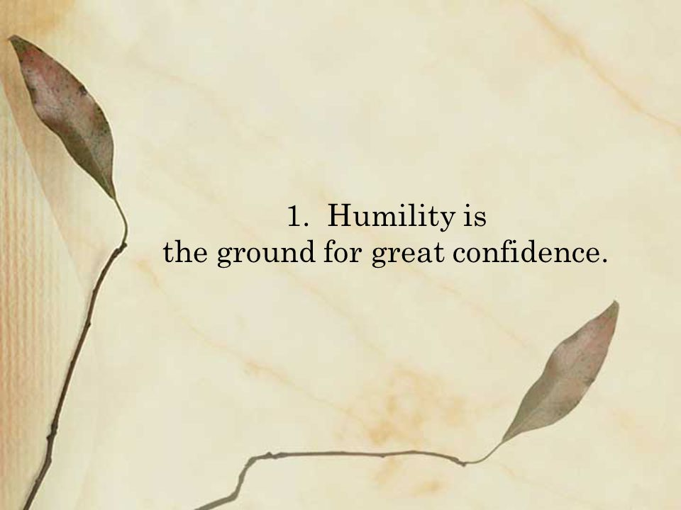 Two Advent reflections on humility: