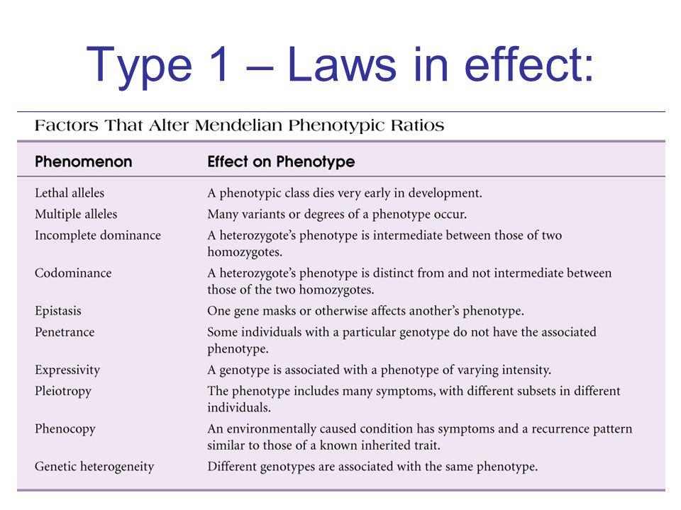 Type 1 – Laws in effect: Insert figure 5.2