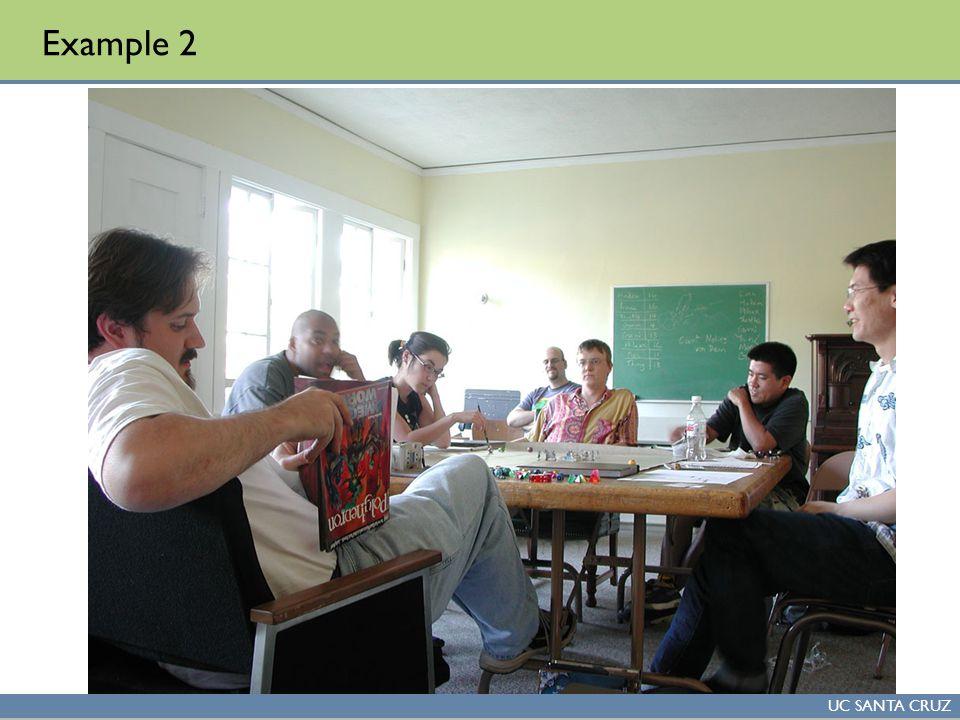 UC SANTA CRUZ Example 2