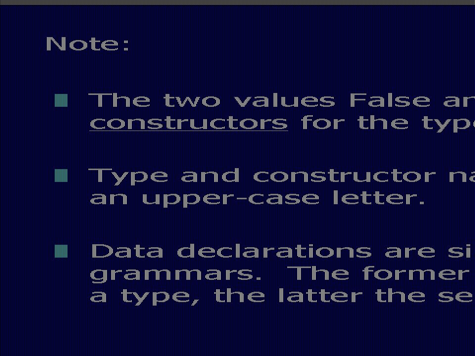 Note The slides are from: Programming in Haskell, Graham Hutton, Cambridge University Press (January 15, 2007)