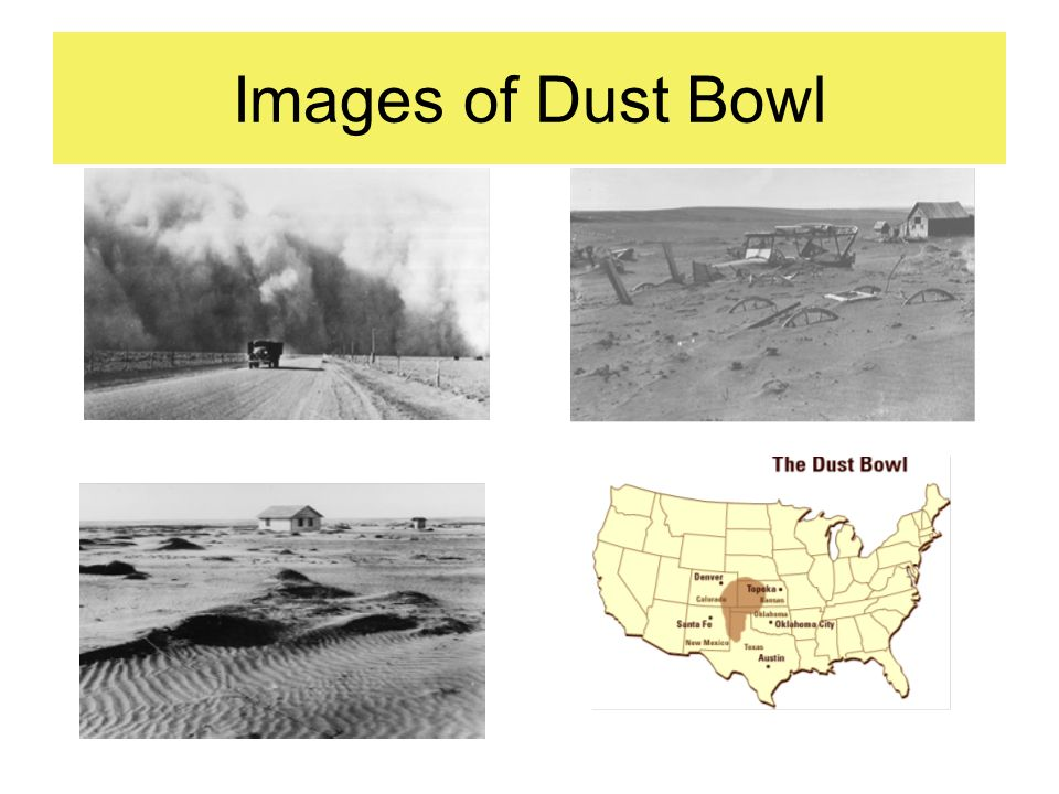 Images of Dust Bowl