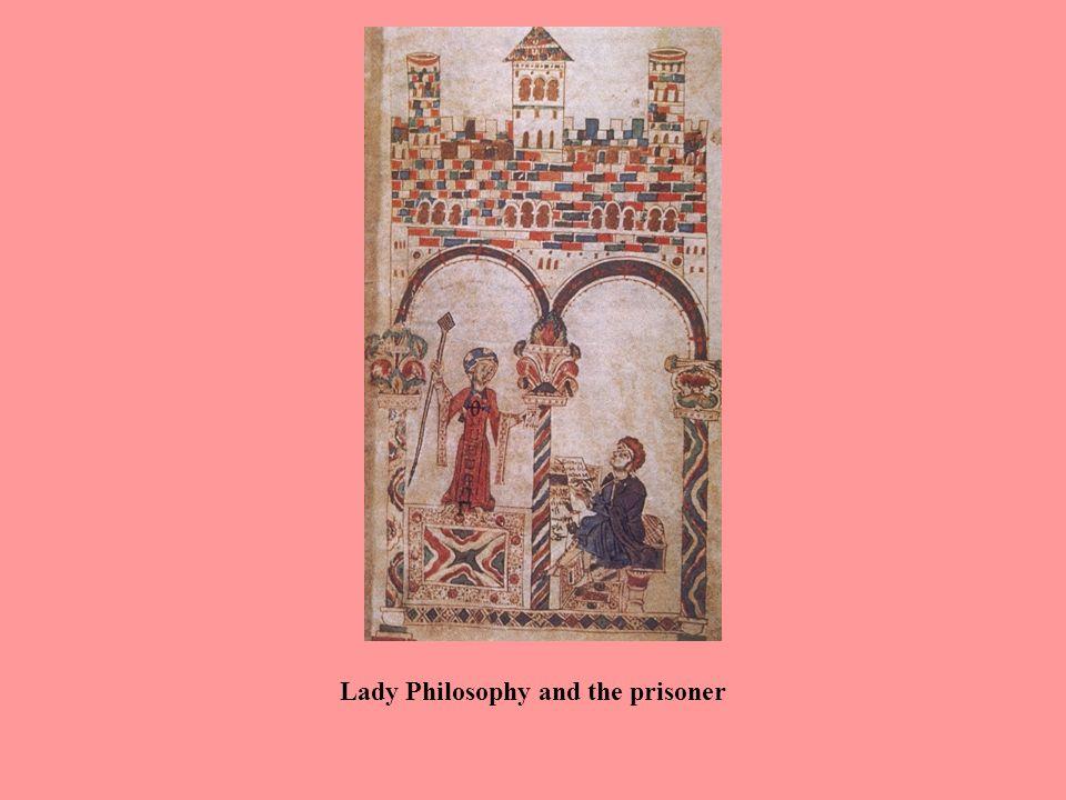 Boethius and Lady Philosophy