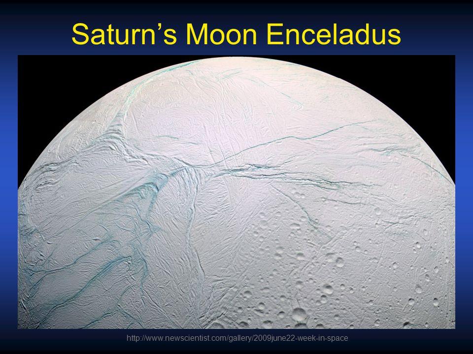 Saturn's Moon Enceladus http://www.newscientist.com/gallery/2009june22-week-in-space