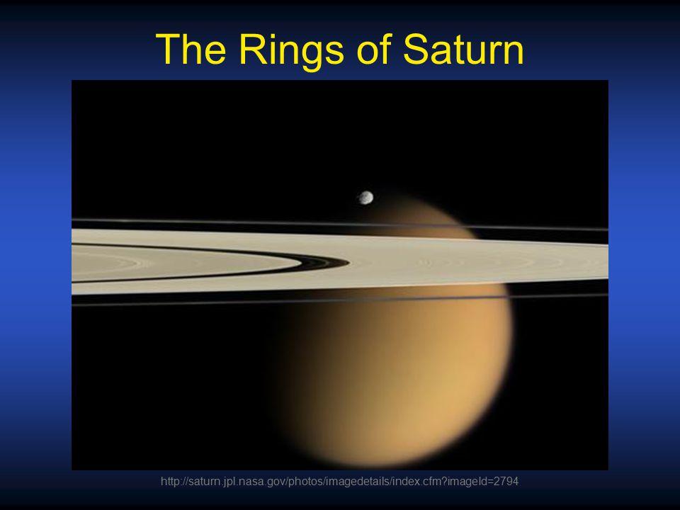 The Rings of Saturn http://saturn.jpl.nasa.gov/photos/imagedetails/index.cfm imageId=2794