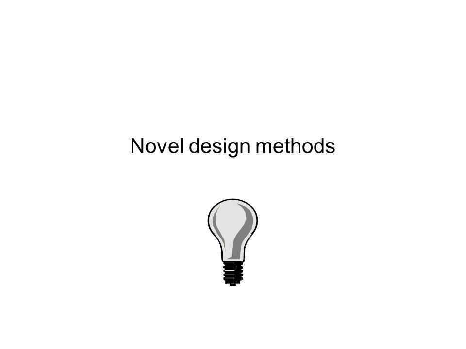 Novel design methods