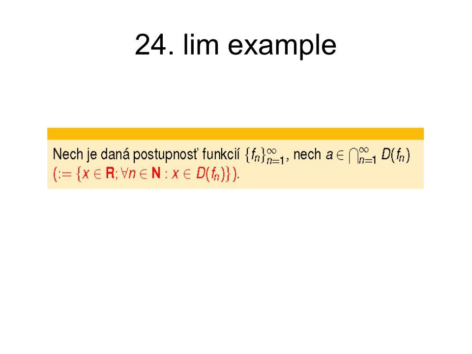 24. lim example