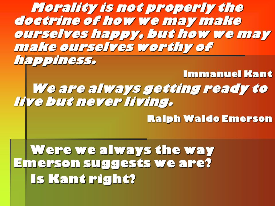 We also need to be aware of another school of thought, one that holds that life is meaningless – that not only were the Monists right about human existence (with regards to the afterlife, not with regards to the everything-is-made-out-of-the-same-stuff business), but that there's not even any meaning to the existence you're currently enjoying.