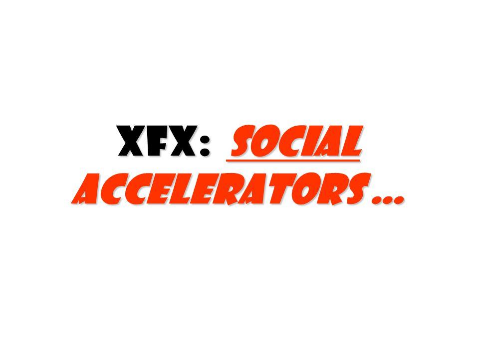 XFX: Social accelerators …