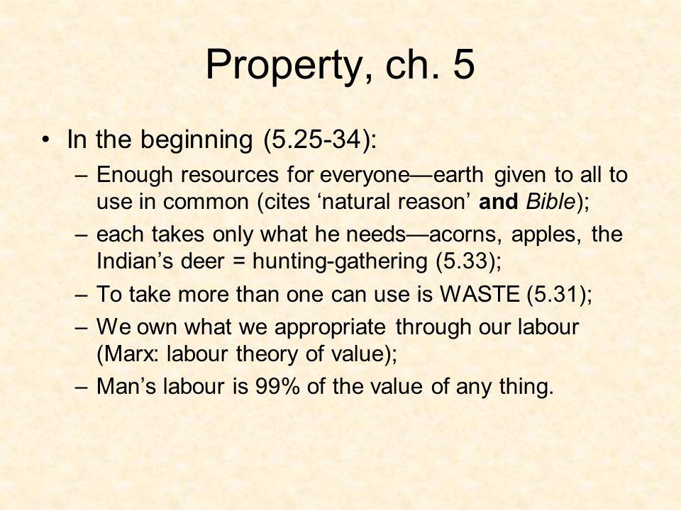 Property, ch.