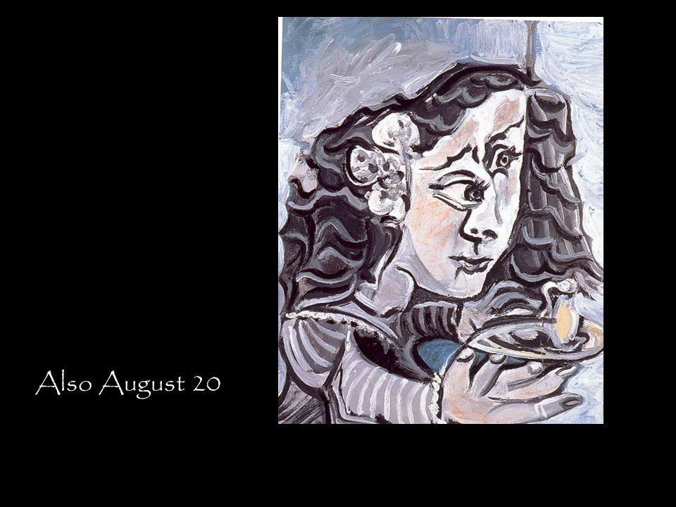 Also August 20