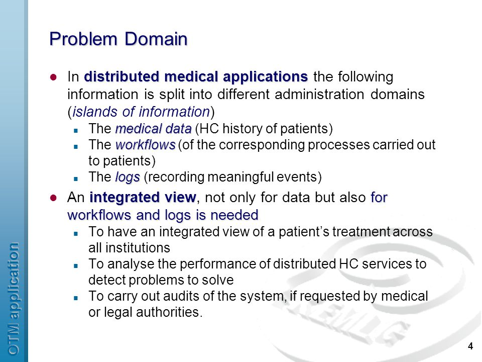 OTM application 15 Conclusions and future work provenancedistributed medical systems We present an application of provenance in distributed medical systems Distributed allocation of human organs Domain: Distributed allocation of human organs for transplantation purposes Provenance useful to trace back trace back the origin of medical decisions provide an integrated view provide an integrated view of a patient's treatment Issues electronicreal Connect an electronic computational process with real world past and current Connect past and current electronic computational processes building a full demonstrator Currently building a full demonstrator for the Catalan OTA as a use case for EU PROVENANCE Evaluation Evaluation is planned with some hospital and transplant coordinators in the Barcelona area.