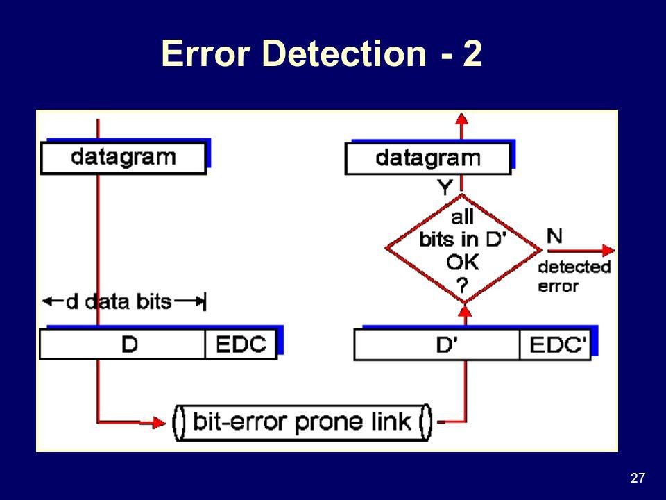 27 Error Detection - 2