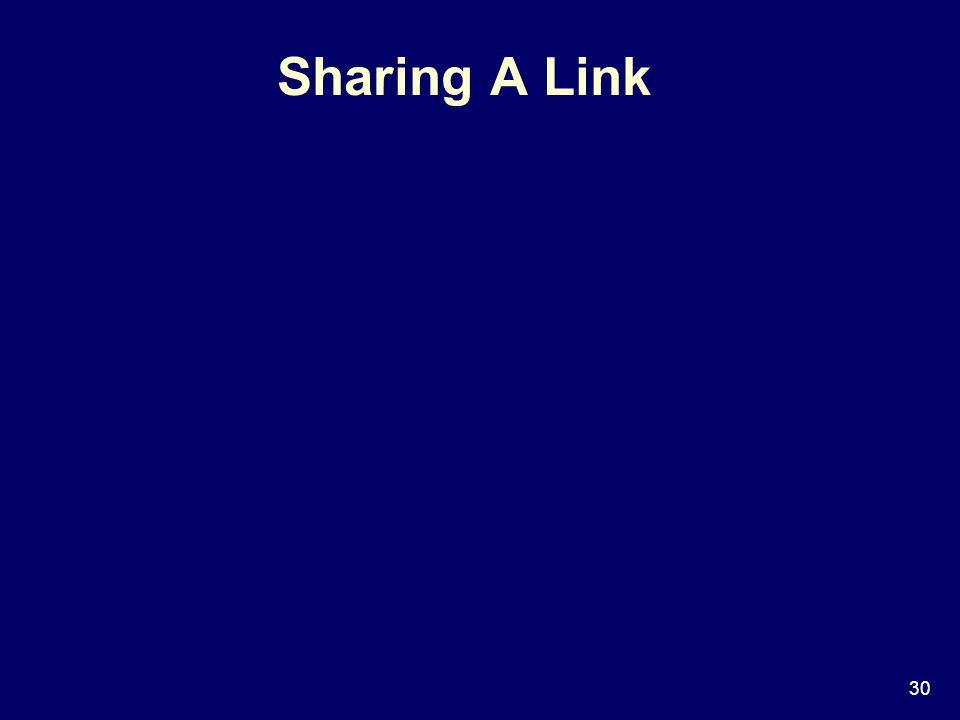 30 Sharing A Link