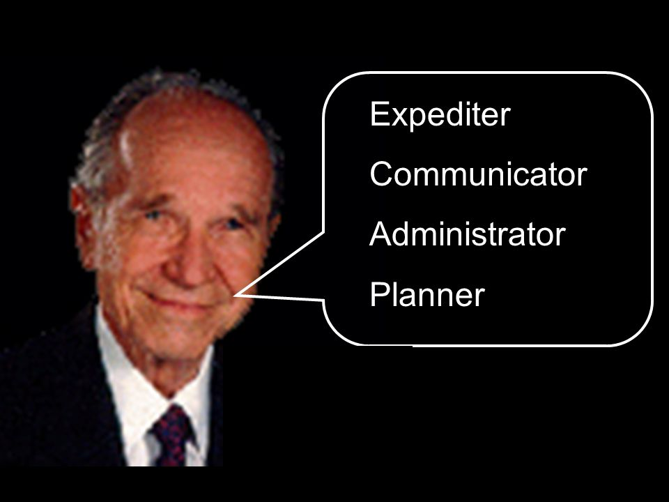 Expediter Communicator Administrator Planner