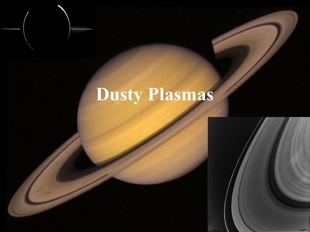 Dusty Plasmas