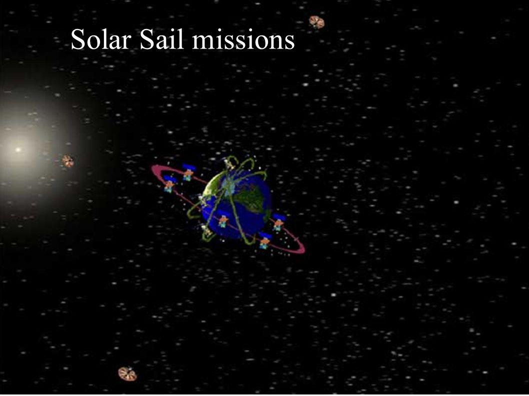Solar Sail missions