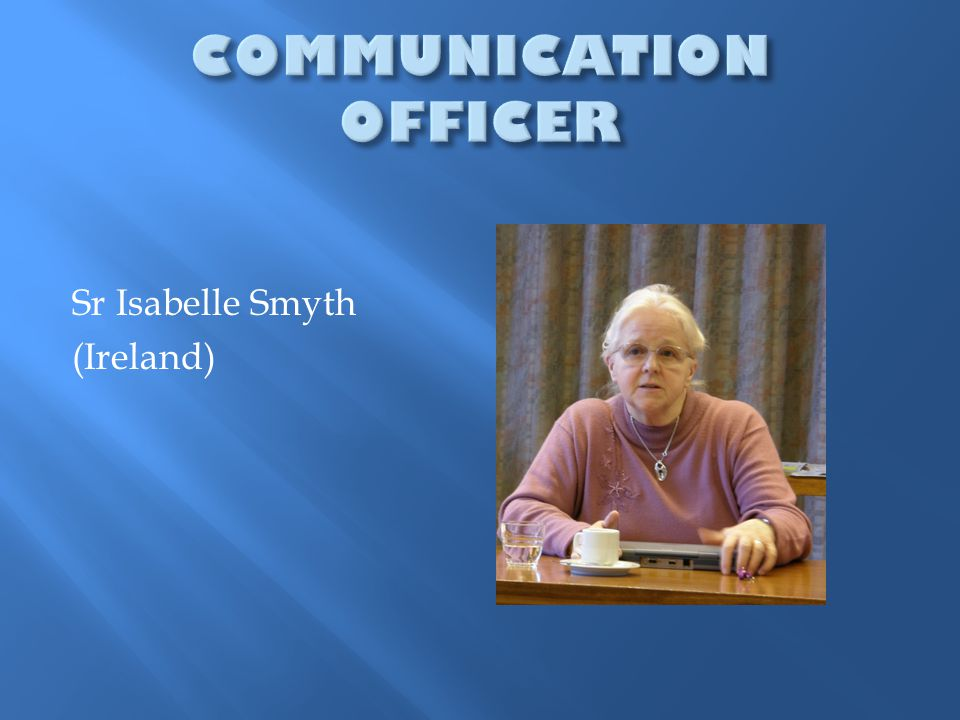 Sr Isabelle Smyth (Ireland)