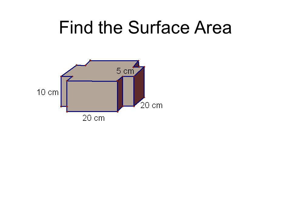 Find the Surface Area