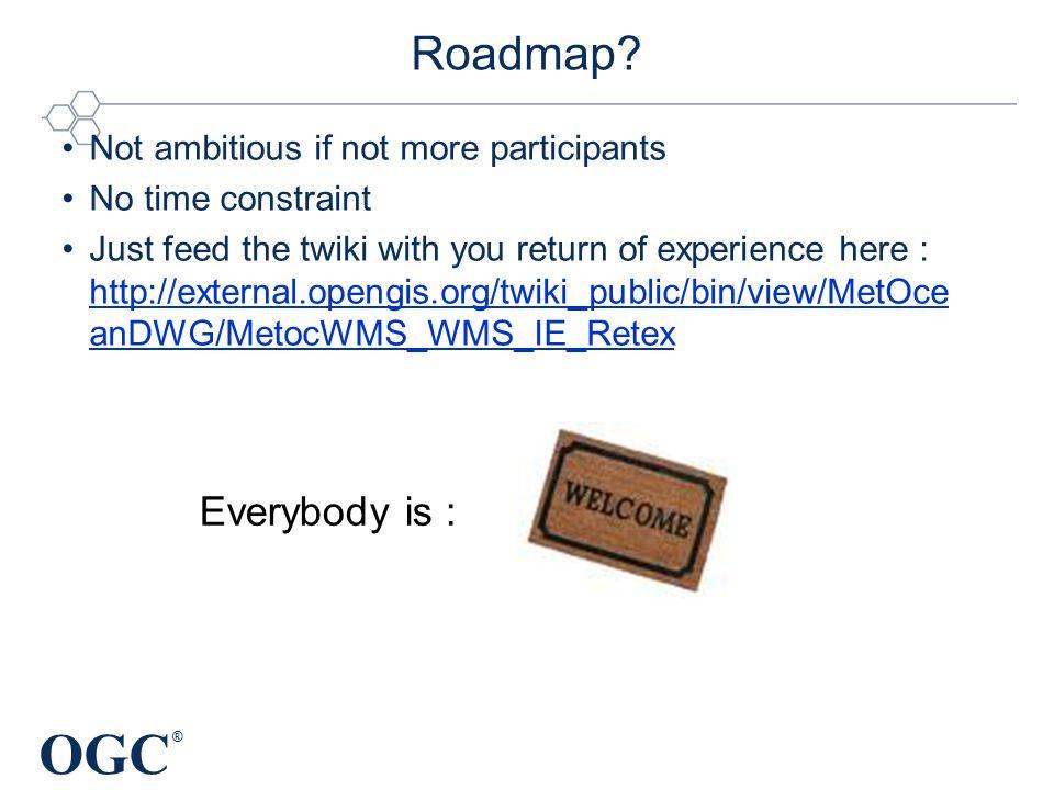 OGC ® Roadmap.