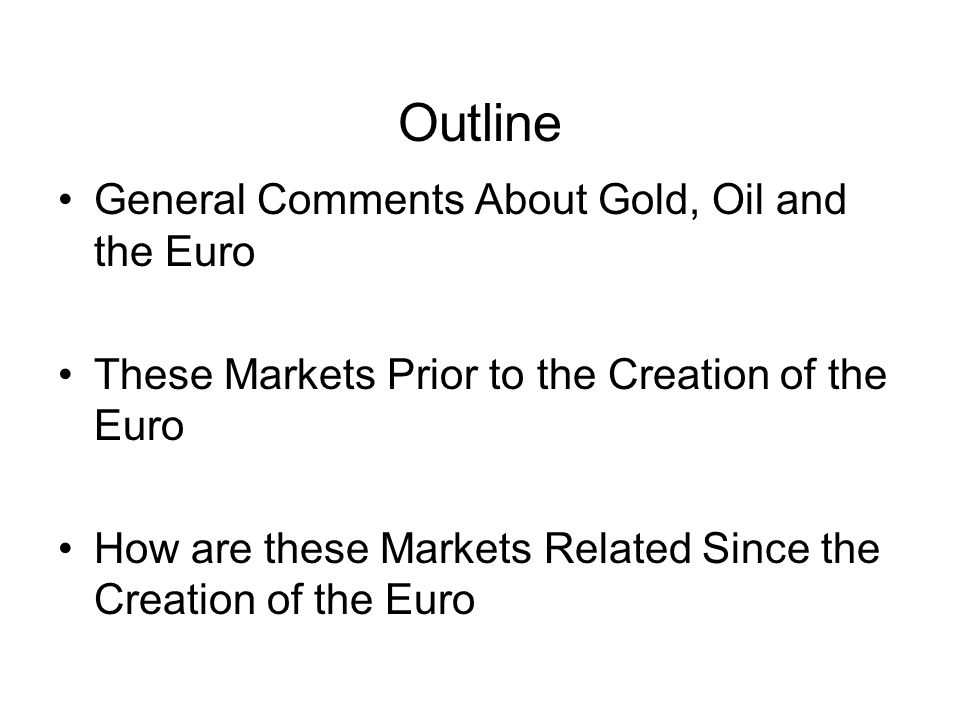Gold As an Anchor of the Gold Standard As a Hedge Against Inflation As a Free Commodity Since mid-1971