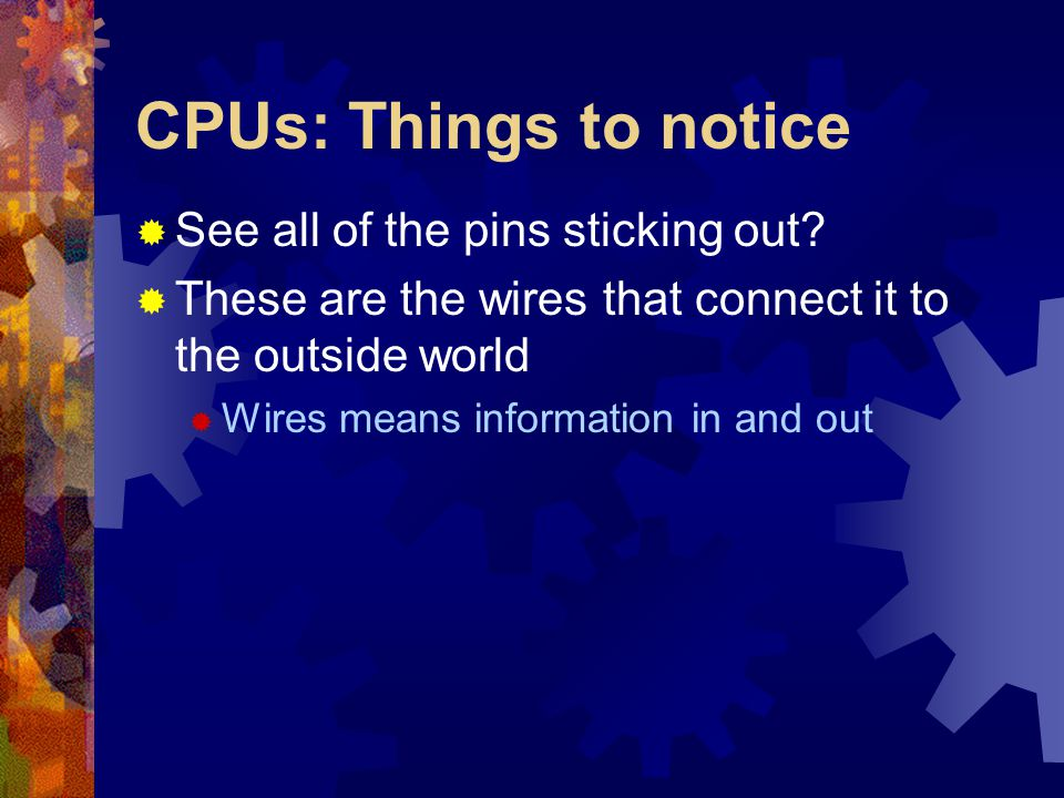 Slots/Ports/Etc.: Familiarity Required  There is a great deal of information on various expansion cards, ports, etc.