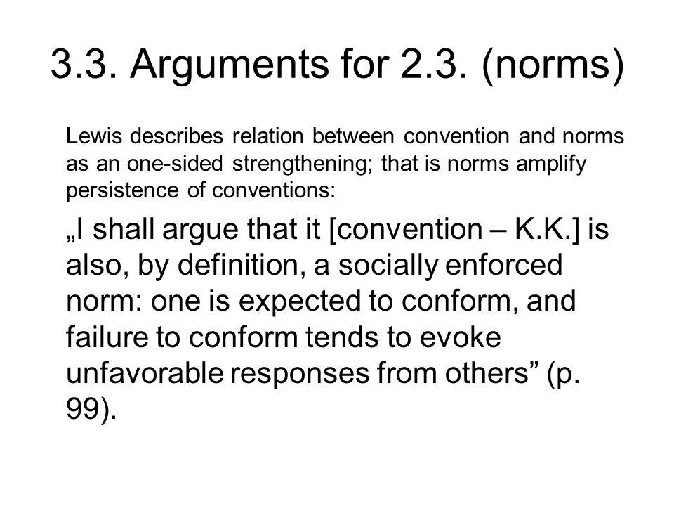 3.3. Arguments for 2.3.