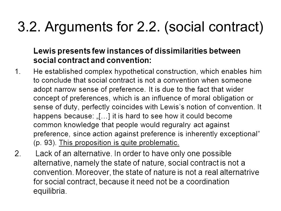 3.2. Arguments for 2.2.