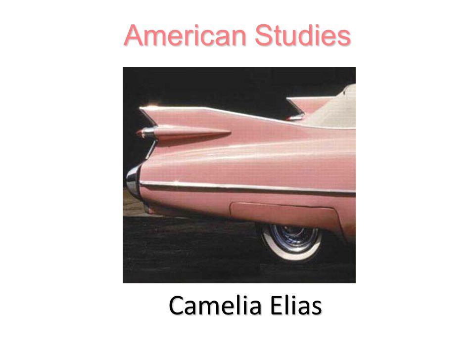 Camelia Elias American Studies