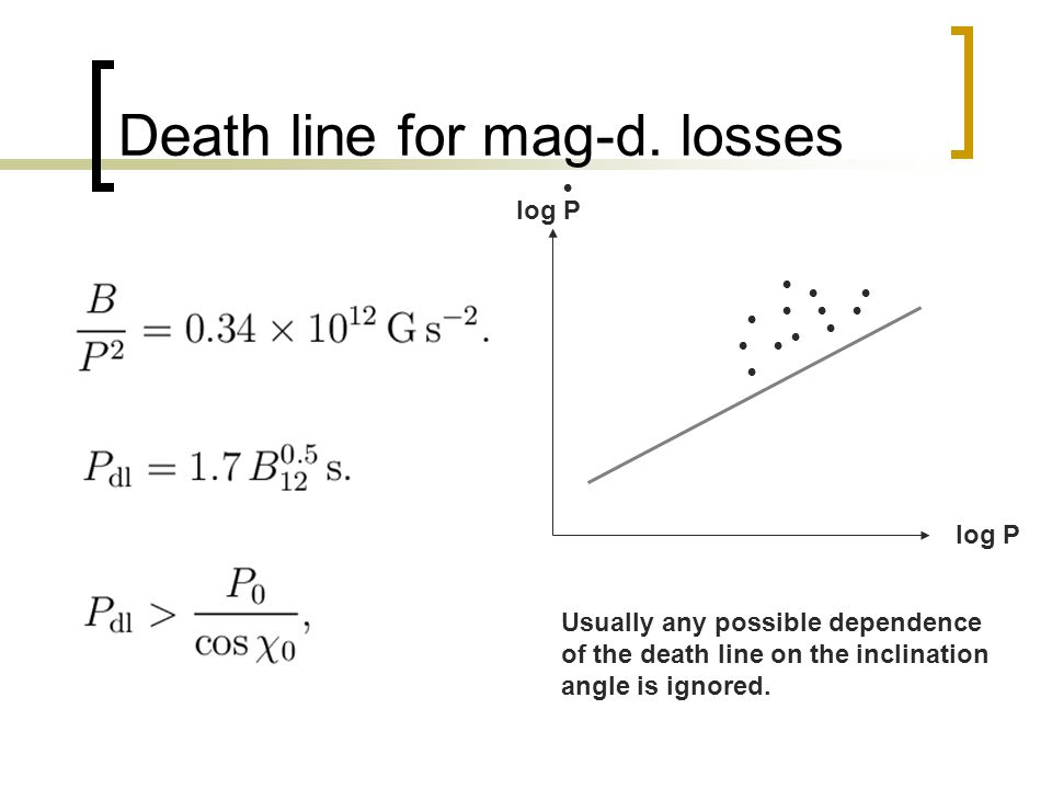 Death line for mag-d.