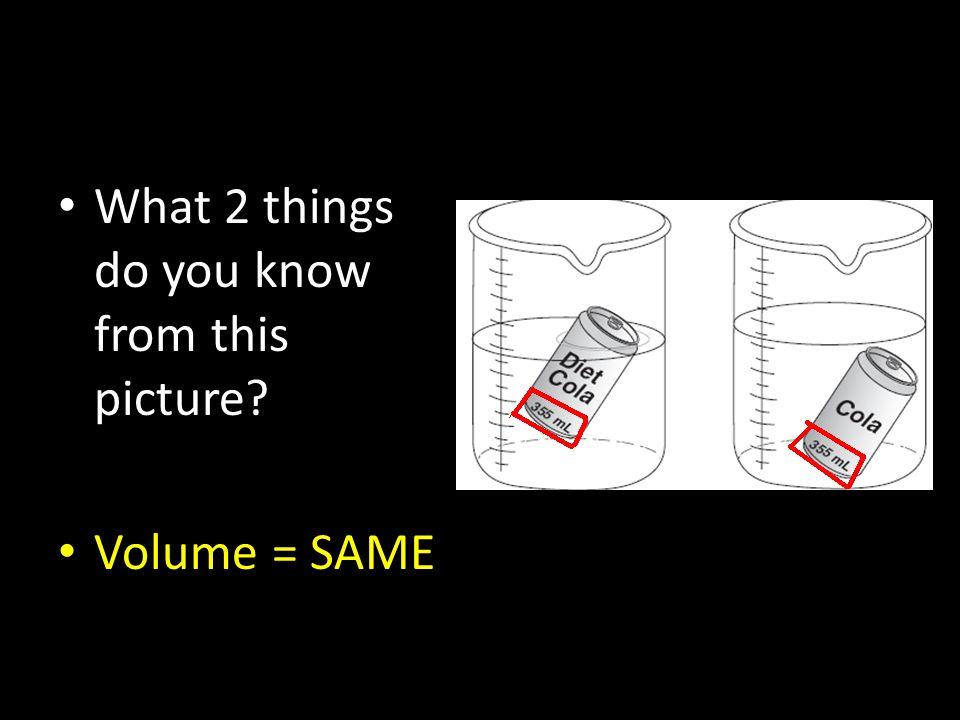 Volume = SAME