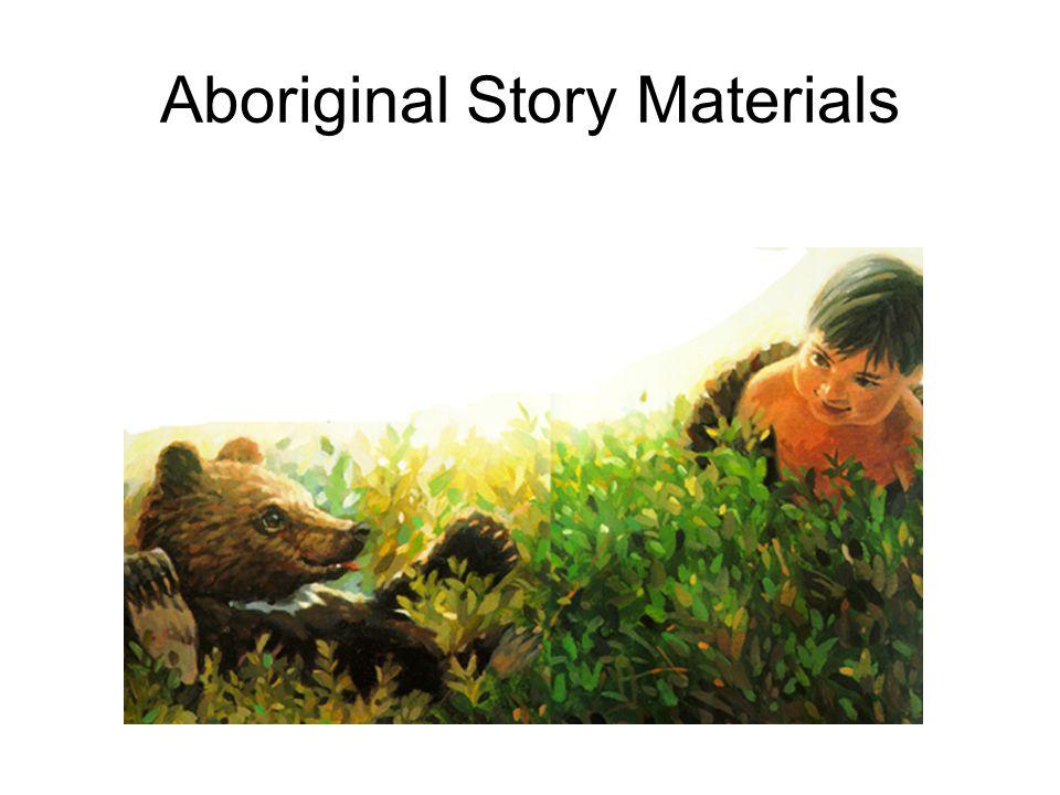 Aboriginal Story Materials